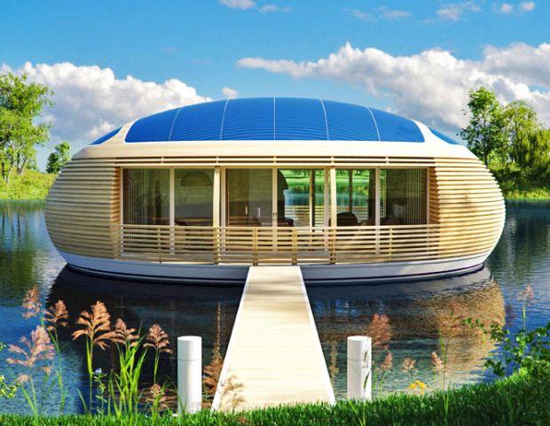 arquitetura sustent vel empresa inglesa constr i casa flutuante que produz energia limpa luis. Black Bedroom Furniture Sets. Home Design Ideas